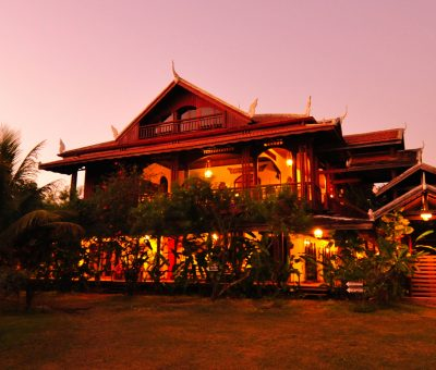 Lodge Terres Rouges, Ratanakiri, Cambodge