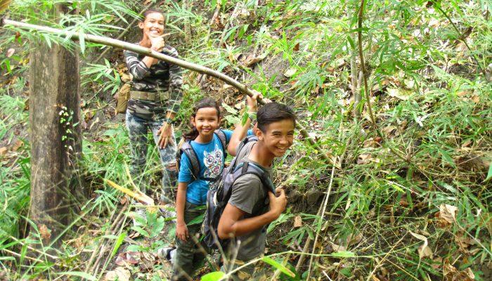 Trek in Ratanakiri Cambodia