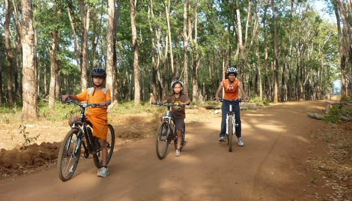 Balade en vélo Banlung